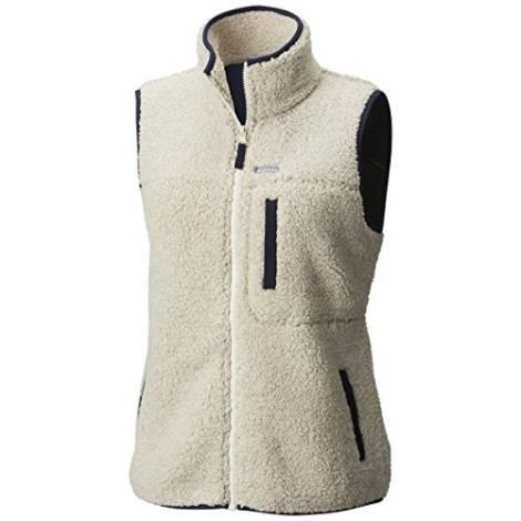 Columbia Women S Mountain Side Heavyweight Fleece Vest